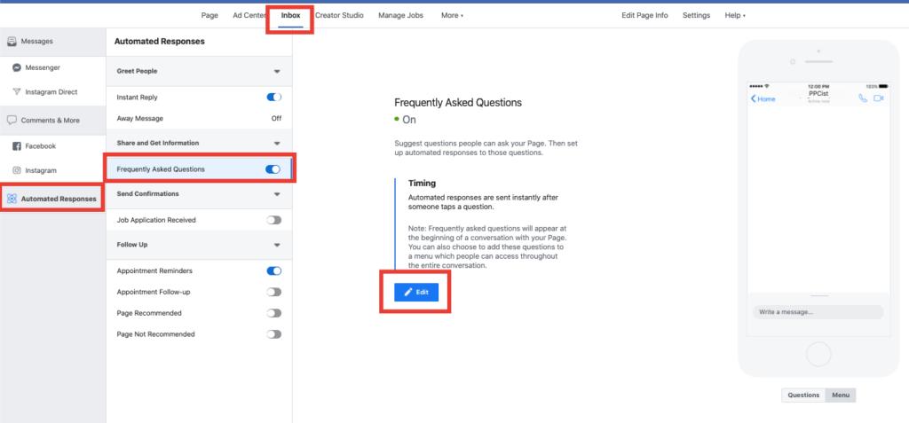 5 Setări pentru Facebook Messenger 2