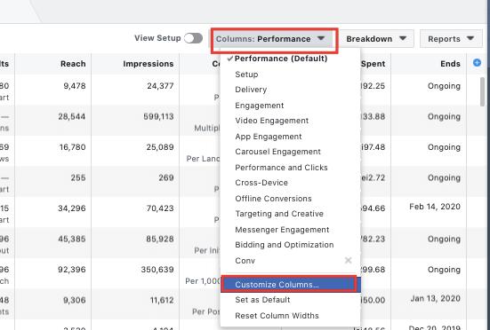 Cum să analizezi campaniile de Facebook Ads 2