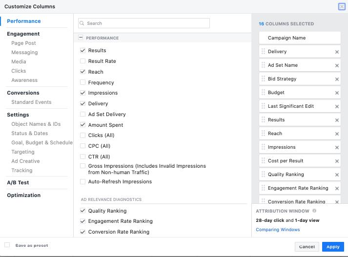 Cum să analizezi campaniile de Facebook Ads 3