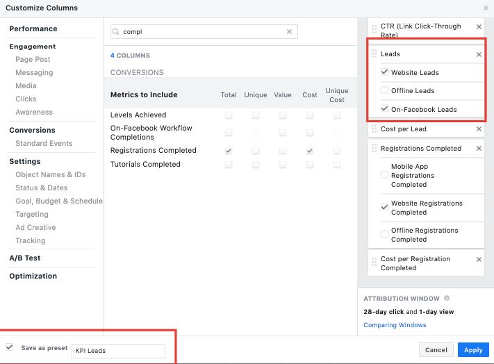 Cum să analizezi campaniile de Facebook Ads 6
