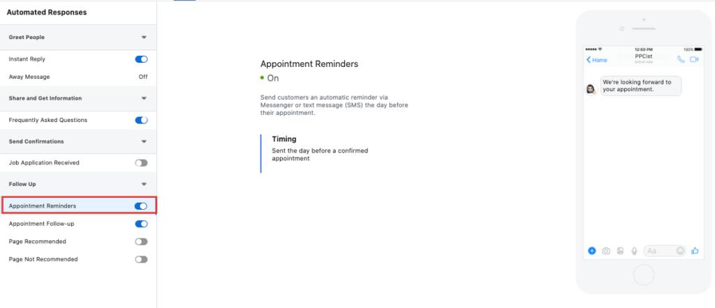 5 Setări pentru Facebook Messenger 7