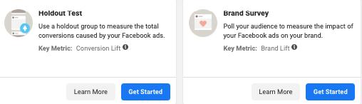 Experimente Facebook Ads 7