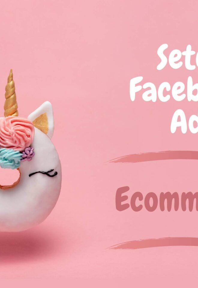 Setup Facebook Ads - Ecommerce 1